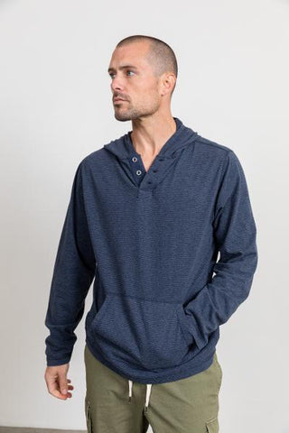 PULLOVER SOFT HOODY - BLUE