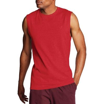 MUSCLE TEE - RED