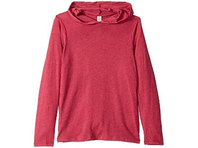 BOYS HOODED TEE - RED