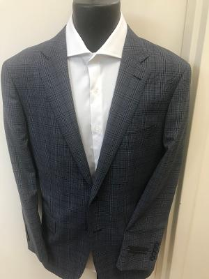 WINDOWPAYNE MODERN FIT BLAZER - GREY