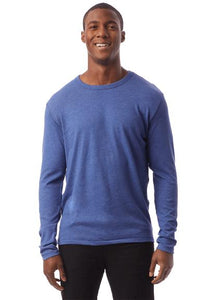 LONG SLEEVE TEE - ROYAL