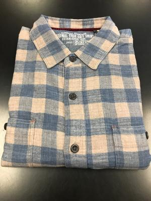 SUCH A SOFT CHECK FLANNEL - BLUE