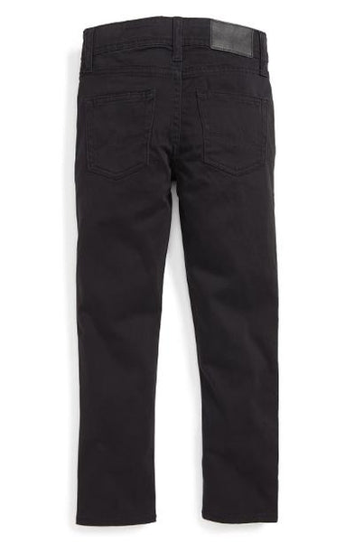 BOYS STRYKER LUXE SLIM STRAIGHT LEG - BLACK