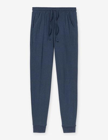 LOUNGE JOGGER - BLUE HEATHER