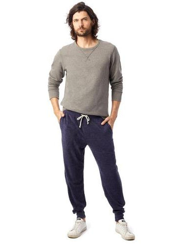 TOWELING TERRY JOGGER - NAVY