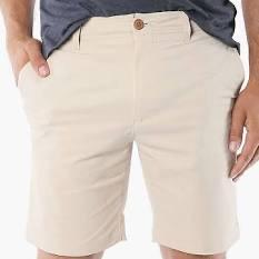 MODERN SLIM STRETCH SHORT - COCONUT MILK
