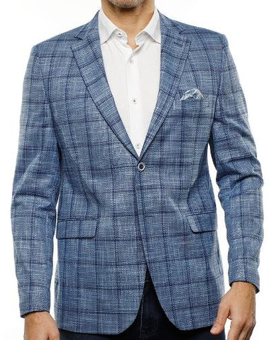 THE ABEY BABY PLAID - BLUE