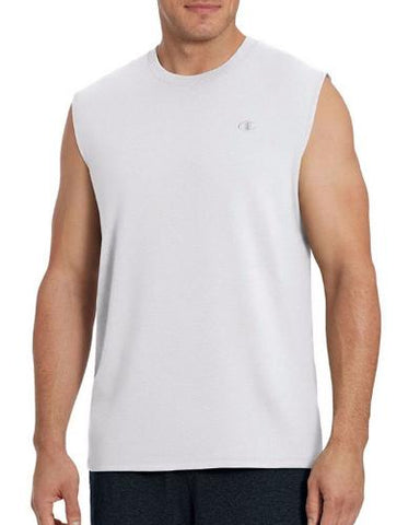 MUSCLE TEE - WHITE