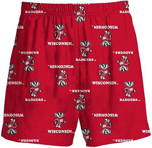 BOYS LOUNGE SHORTS - WISCONSIN