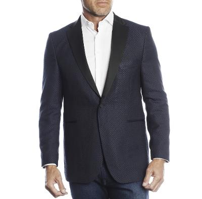 ONE HANDSOME DINNER JACKET - NAVY