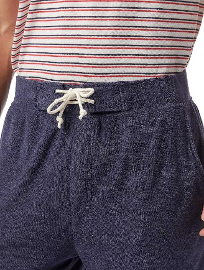 TERRY CLOTH SHORT - NAVY