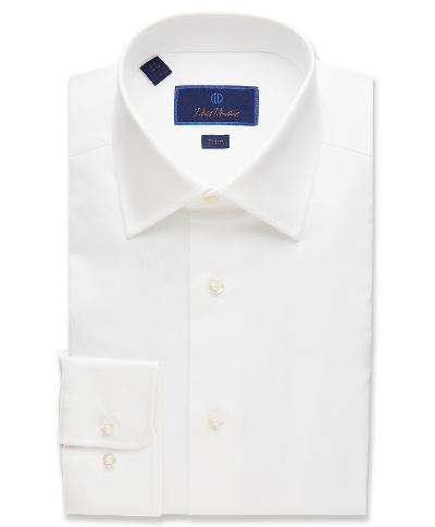 TRIM FIT DRESS SHIRT 34/35 SLEEVE