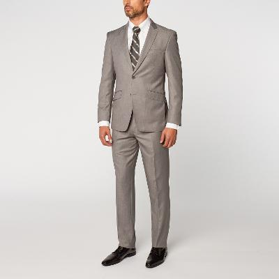 EURO SLIM FIT SUIT - GREY