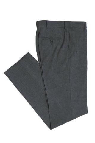 BOYS HUSKY DRESS PANT - GREY