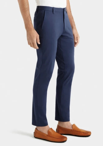 SLIM FIT COMMUTER PANT - NAVY