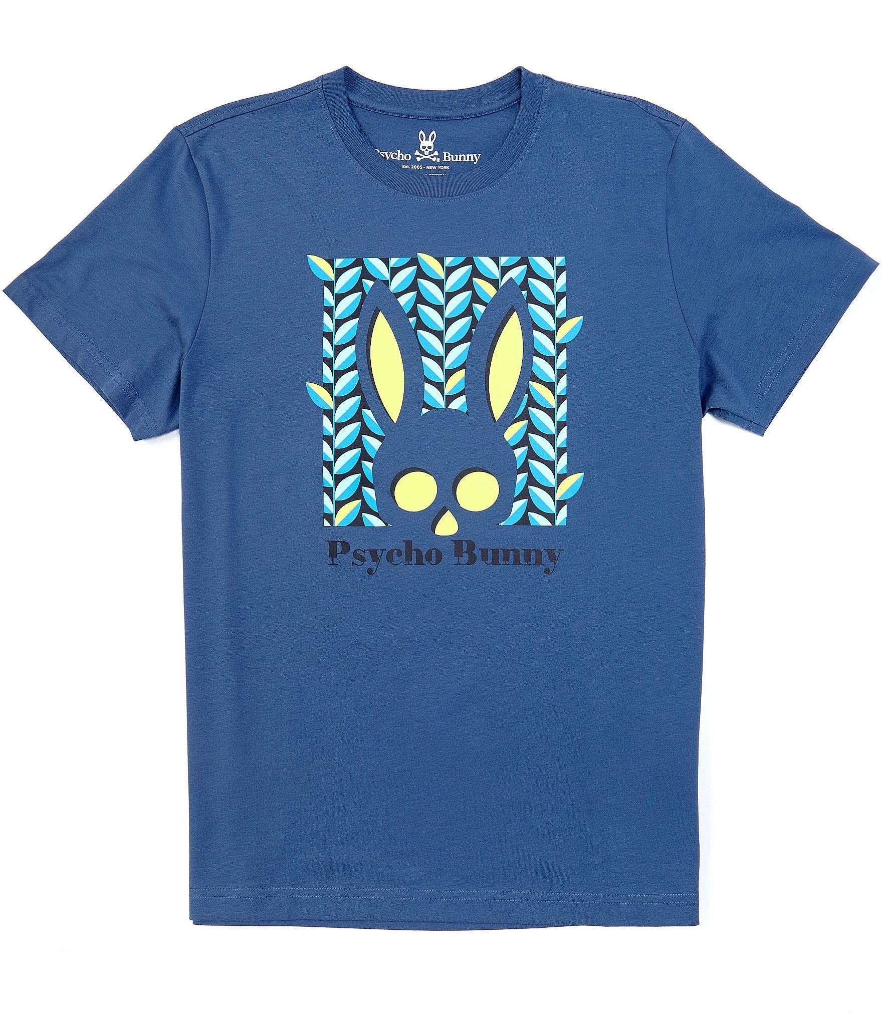 BOYS HAINES TEE - BLUE