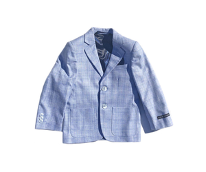 BOYS SKY WINDOW BLAZER - SKY