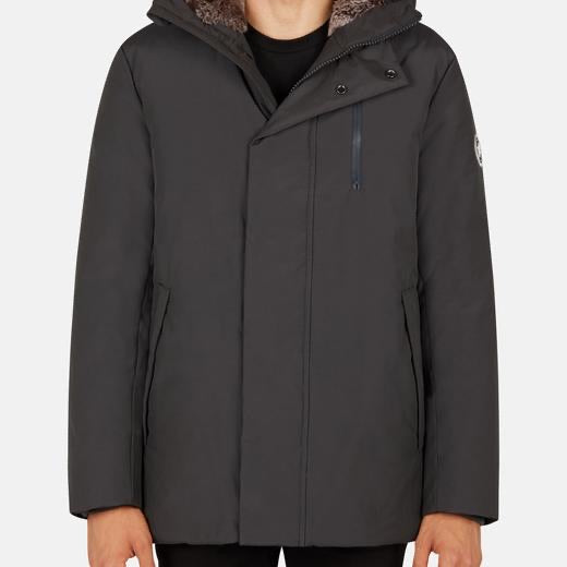 MENS CHINCHILLAAA PARKA - CHAR