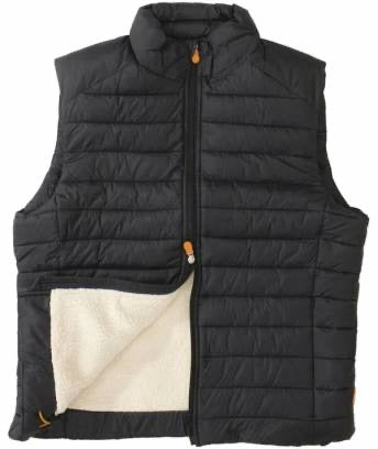 SHERPA BUBBLE VEST - BLACK