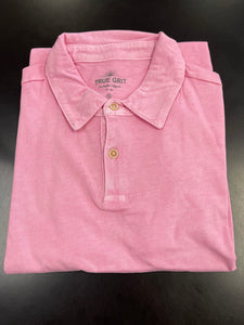 SUPREMELY SOFT SS POLO - PINK