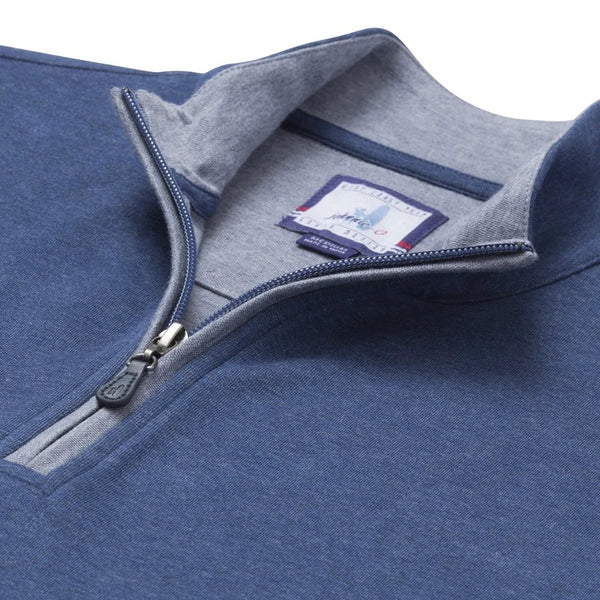 SULLY BUTTER SOFT 1/4 ZIP - HELIOS BLUE