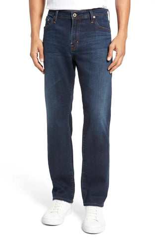 THE EVERETT SLIM STR8 - MEDIUM BLUE