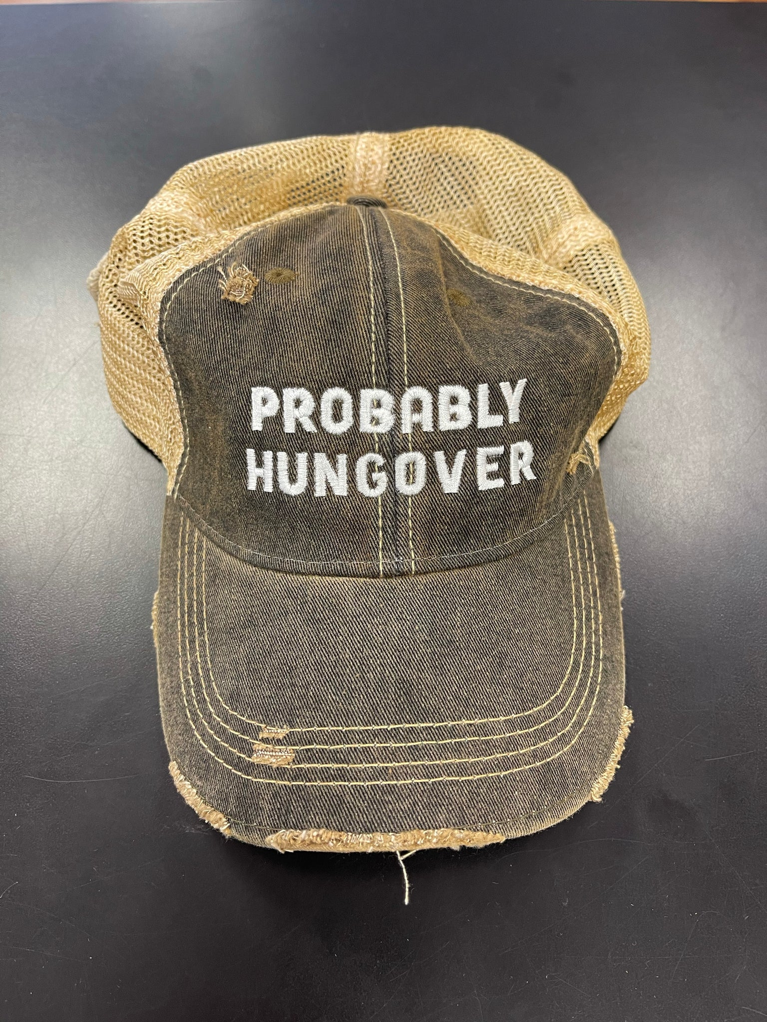 TRUCKER SNAP BACK - HUNGOVER