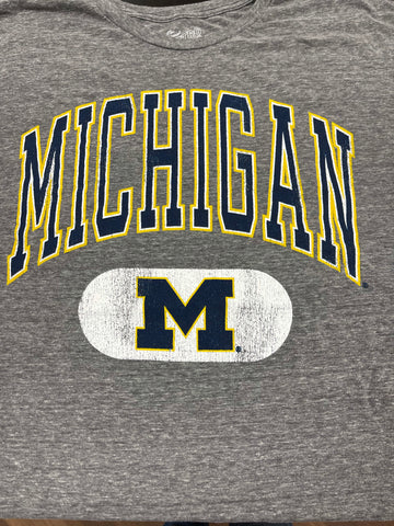 COLLEGE TEE - MICHIGAN