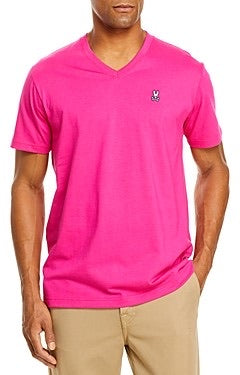 JUST A COOL VNECK - PINK