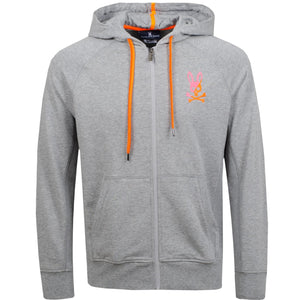 THE DRAKE ZIP UP - GREY