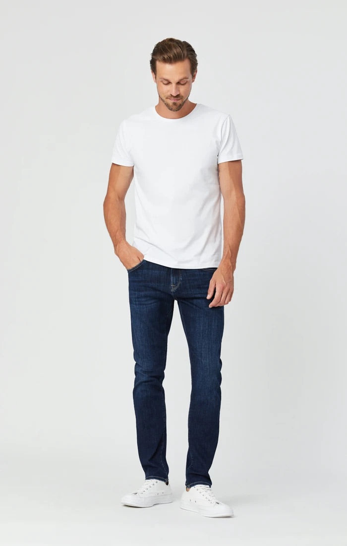 MAVI JAKE SLIM LEG - DEEP FEATHER BLUE