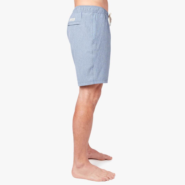 ONE SHORT LINED SHORT - BLUE
