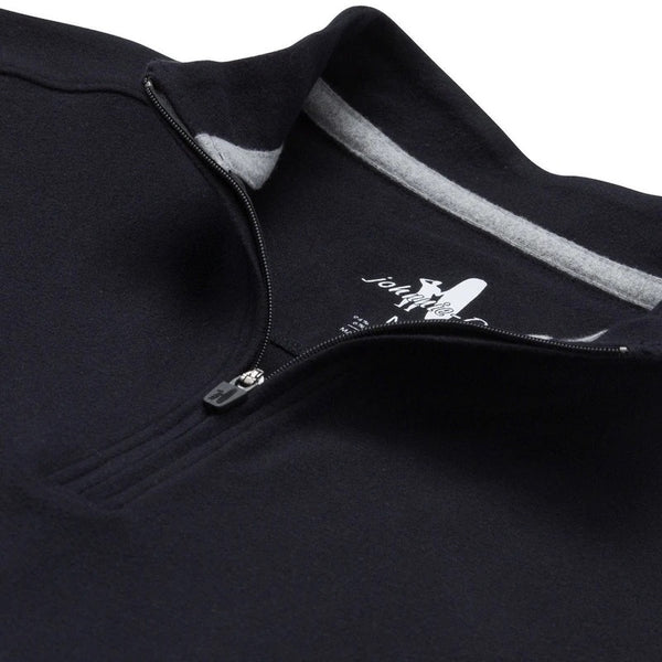 BRADY SUPA SOFT 1/4 ZIP - BLACK