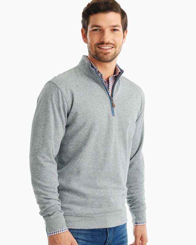 SULLY BUTTER SOFT 1/4 ZIP - LT GREY