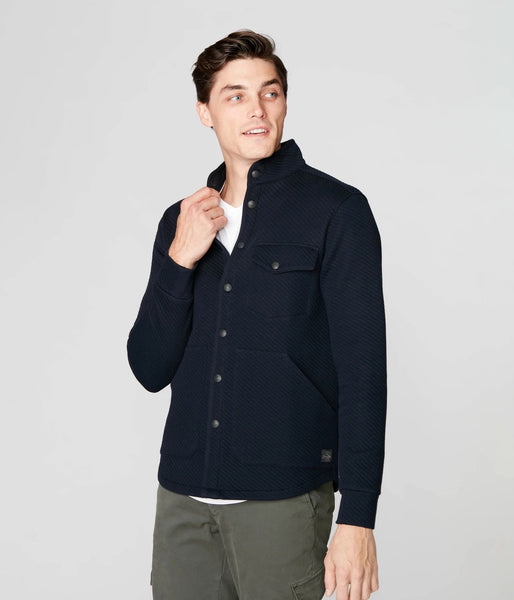 FIJI SHIRT JACKET - NAVY