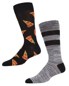 2 PAC CREW SOX - PIZZA