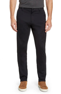 SLIM FIT COMMUTER PANT - BLACK
