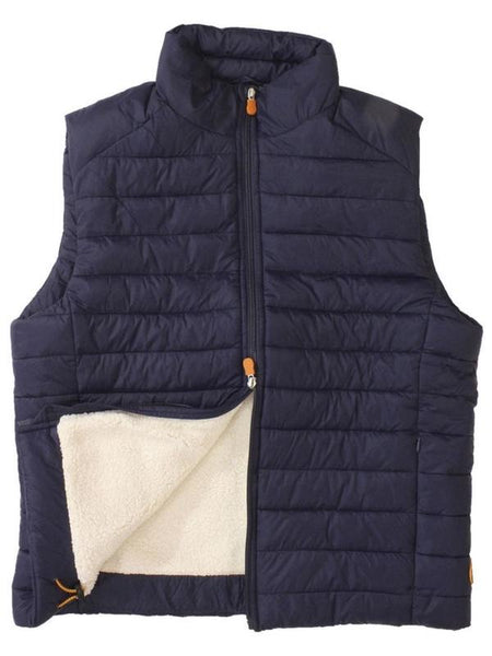 SHERPA BUBBLE VEST - NAVY
