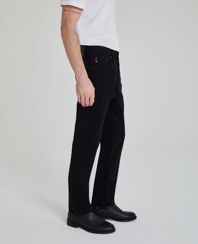 THE EVERETT SLIM STR8 - BLACK DENIM