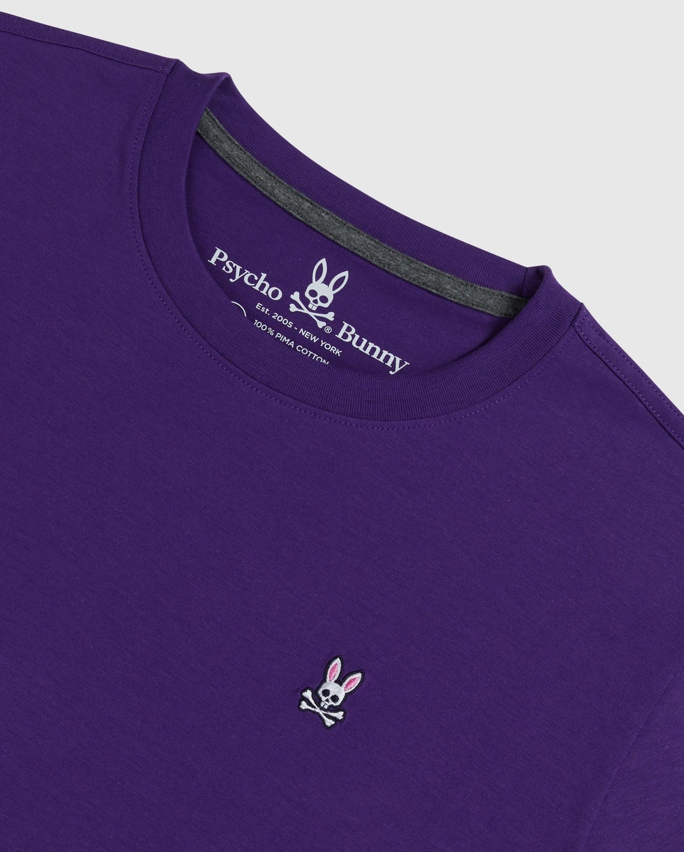 SS CREW NECK TEE - PURPLE