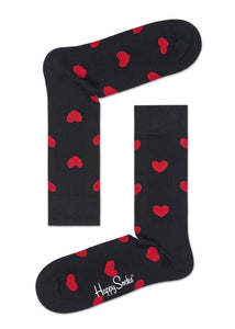 JUST SOME FUN HAPPY SOCKS - HEART