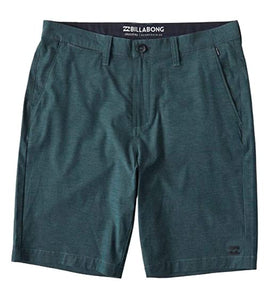 BOYS HYBRID SHORT - GREEN
