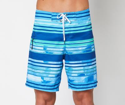 BOYS RIBBON BOARD SHORT - BLUE