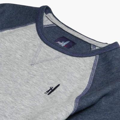 BOYS CONOR LS CREW - GREY