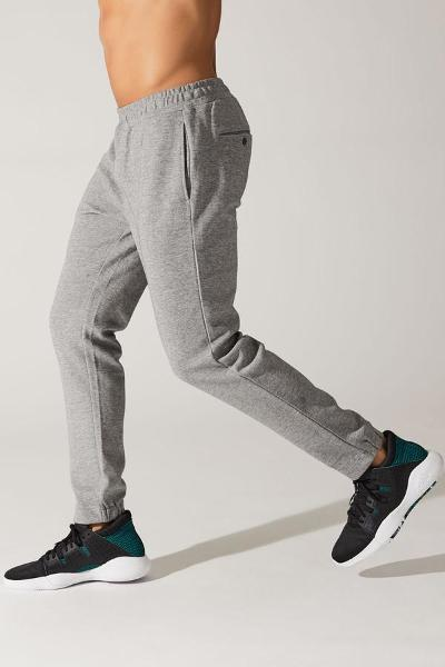 ATTICUS FLEECE SWEATPANT - GREY