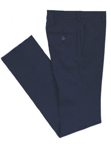 BOYS HUSKY DRESS PANT - NAVY