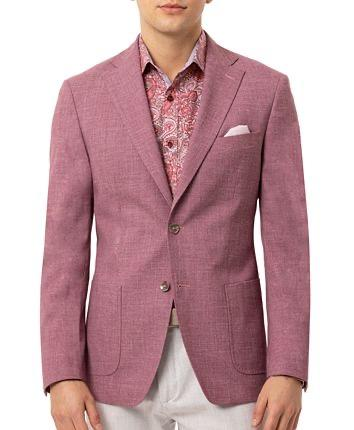 SLIM FIT SPORT COAT - MAUVE