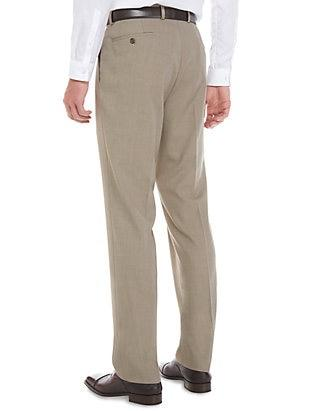 SLIM FIT TOTAL STRETCH DRESS PANT - TAN