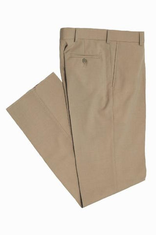 BOYS HUSKY DRESS PANT - TAN