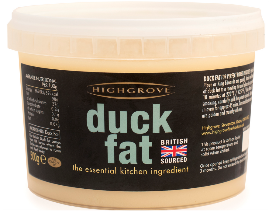 Highgrove British Duck Fat (500g)